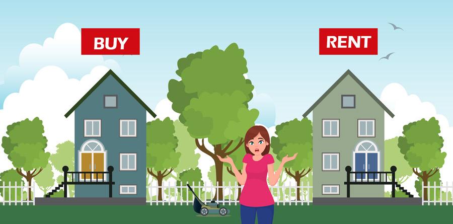 לקנות או לשכור דירה